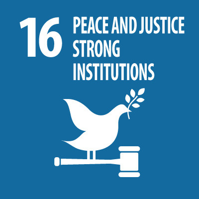 Peace,Justice and strong institutions